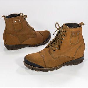 "Calden 1  1/4"" Hiking Combat Inspired Boot"